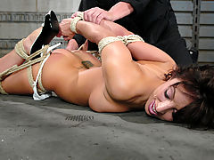 Teen Puffy Nipples, Fiery, sexy brunette gets bound and disciplined with water torture