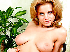Breastfeeding Nipple, Hilliary gets off rubbing her huge sexy tits and fingering her tight twat.