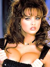 Naked Suze Randall, Beautiful and busty, Stacy Moran gives you those innocent eyes while teasing you with her not so innocent body!