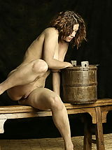 Vintage Nippels, WoW nude keemly medieval body washing