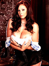 Naked Suze Randall, Gianna Michaels is your very own beer wench in this hot set!