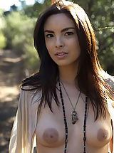 Big Nipples, WoW nude danicole walk in the forest