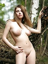 Leticia gets all natural in nature