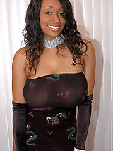 Black Pics: Content of Carmen Hayes - My chocolate luv bunny came over to my house. We got all dolled up for a sexy big titty photoshoot. I couldn't keep my hands off of her mocha mounds and it quickly turned into a lick fest. My husband discovered us on the...