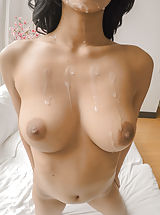 Women with big Areola, Preston pampers his beautiful Karmen's stems with an attractive massage