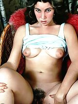 Huge Areola, Vintage Porn at its best from Vintage Cuties