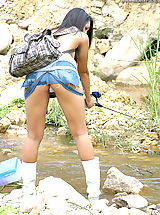 Puffy Nipples Pics, Asian Women sharon 04 fishing puffy nipples