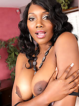 Black Nippels, Gorgeous busty ebony Nyomi Banxxx has intense rough sex with one of her son's friends.