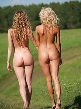 teen ass, Femjoy - Nicolle, Anju in Going For A Walk