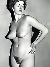 vintagelovely art Retro nude