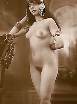 Vintage Look, This Is What We Call Real Old Time Erotica - True 1900-1920 Erotic Pics Featuring Beautiful Naked Wives of those Times