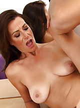 [Spintax1], Sassy milf Mimi Moore gets plowed by a thick cock