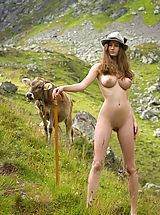 Naked Outdoors, Femjoy - Susann in Cowgirl
