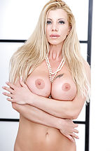 Young Puffy Nipples, Bigtit hottie Lara de Santis is an Italian mom with a shag me attitude that won't take no for an answer. Her lingerie teddy is soon on the ground so she can show off every inch of her fair skin from the swell of her huge breasts to the cream of her bare c