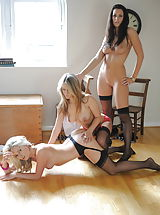 huge erect nipples, Students Candine Collyer and Friends