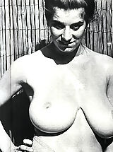 1960 Made Porn Pics of a Girl That Has the Biggest Bust at That Time Featuring All Naked Pussy and Breast Photos