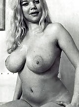 Beautiful and Curvy Retro Girls Eagerly Fondle Their Breasts and Show off Just How Gorgeous They Are