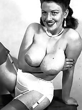 Naked Vintage, I Just Found These Photos of Hot Nude Busty Ladies of 1950s Hidden In a Loft by My Father's and Their Sexuality Has Blown Me