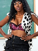 Naughty America Pics: Sexy Nyomi Banxxx goes crazy fucking and sucking a big dick.