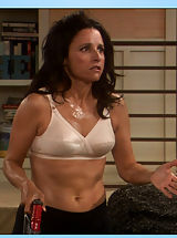 Womens Areola, Julia Louis-Dreyfus sheds some epidermis on Seinfeld