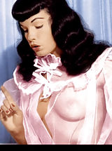 naked tv, Bettie Page
