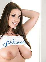 naked chicks, Angela White