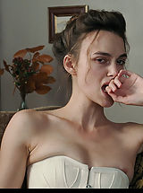 nipple stimulation, Keira Knightley shows down her sweet lil' knockers.