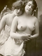naked boobs, Retro Style Sex