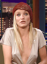 Enlarged Areola, Cameron Diaz shows her hot panty covered buns and difficult pokies