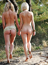 Taking a long walk in nature under the warm sun is the most favorited time spending for these extraordinary looking babes.