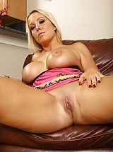 Senior wife Tara Star unleashes her large firm breasts.