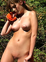 Small Areola, faye reagan 02 puffy nipples forest