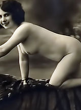 Vintage Fashion, Blast from the Past Naked Girls