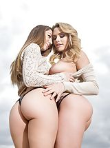 Mia Malkova, Remy Lacroix Naughty Model reveals her bare cans, draws down her under garments and spreads her legs and stimulates her snug labia