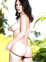 RayVeness, Alex Gonz Sinful Slut uncovers her bare juggs, draws down her knickers and spreads her limbs and fingers her tight-fitting vagina