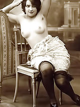 naked pictures, Retro Style Maids